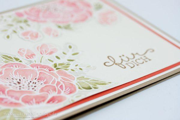 Geburtstagsblumen - zart koloriert